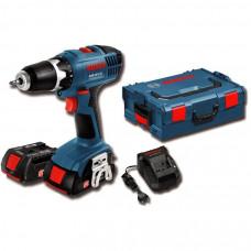 """Furadeira Parafusadeira 3/8"""" a Bateria 18V - GSR 18-2-LI Plus - Bosch"""