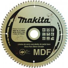 Disco de Serra – Videa - MDF -B-49585 – Makita