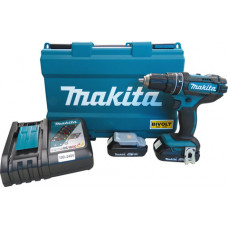 Parafusadeira / Furadeira de Impacto a Bateria - DHP482RAE - Makita