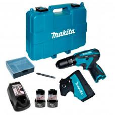 Parafusadeira / Furadeira de Impacto a Bateria BIVOLT - HP330DWE - Makita