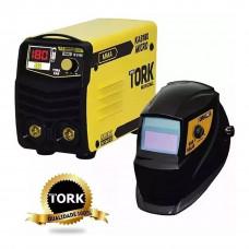 Inversora Solda Super-Tork Micro Kab 180 + Máscara MSEA 901